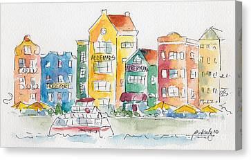 Along Saint Anna Bay Canvas Print