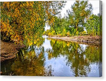 Along The Poudre Canvas Print