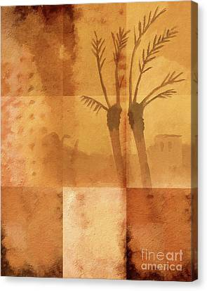 Along The River Nile Canvas Print by Lutz Baar