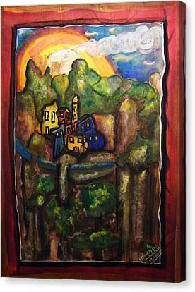 Alpes Maritimes - Childhood Memories Canvas Print