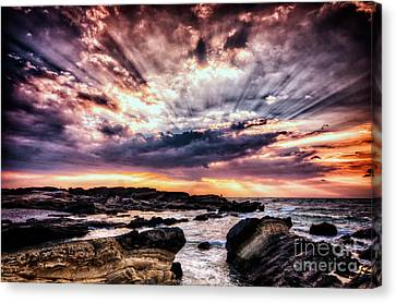 Alpha And Omega Canvas Print by John Swartz