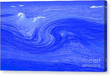 Alpha Wave By Jrr Canvas Print by First Star Art