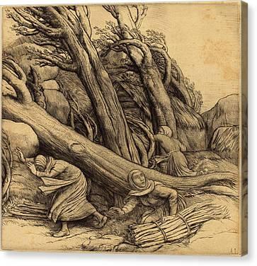 Alphonse Legros, Tornado Le Typhon, French Canvas Print