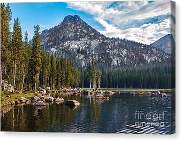 Alpine Beauty Canvas Print by Robert Bales