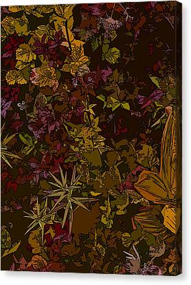 Alpine Groundcover Canvas Print by Anne Havard