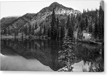 Alpine Lake // Bob Marshall Wilderness Canvas Print by Nicholas Parker