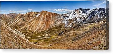 Alpine Loop Scenic Byway Trail Passing Canvas Print by Panoramic Images