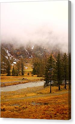 Alpine Mist Canvas Print