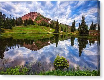 Alpine Morning Canvas Print