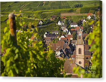 Alsace Morning Canvas Print