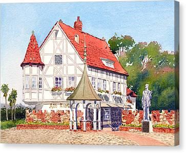 Alt Karlsbad California Canvas Print by Mary Helmreich