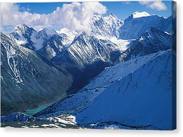 Altai Mountains Canvas Print by Anonymous