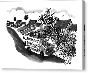 Alternative Lawn Doctor Canvas Print
