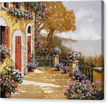 Altre Porte Rosse Canvas Print