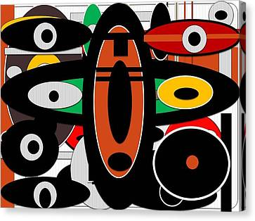 Alujo Canvas Print by Olubunmi Oluwadare