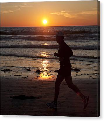 Canvas Print featuring the photograph Always A Runner by Nathan Rupert