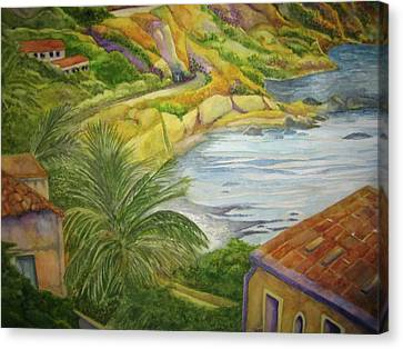 Am Taormina Canvas Print