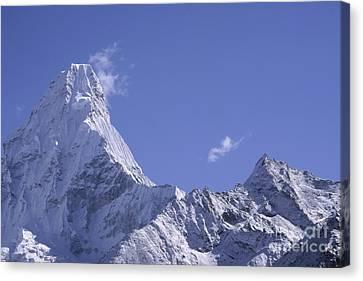 Ama Dablam Nepal Canvas Print by Rudi Prott