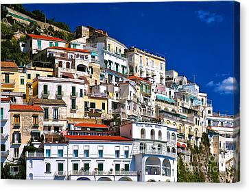 Amalfi Architecture Canvas Print
