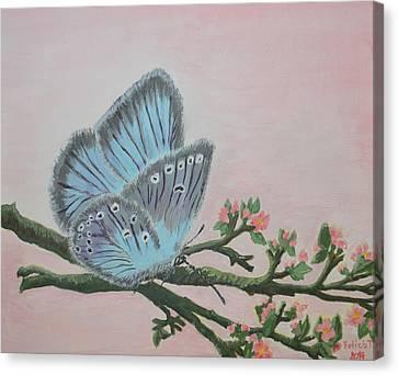 Amandas Blue Dream Canvas Print by Felicia Tica
