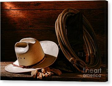 Amarillo By Morning Canvas Print by Olivier Le Queinec