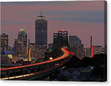 Amazing Boston Canvas Print by Juergen Roth