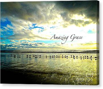 Canvas Print featuring the photograph Amazing Grace Sunrise 2 by Margie Amberge