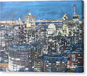 Amazing Montreal Canvas Print by Vikram Singh