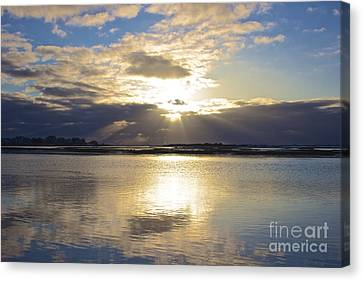 Amazing Sunrise Canvas Print by Amazing Jules