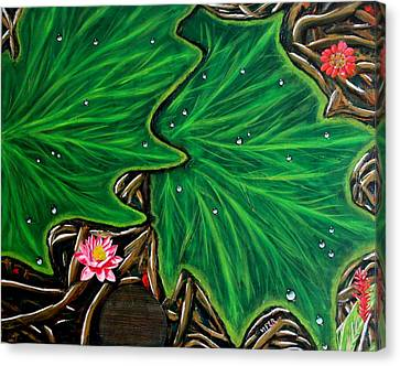Amazonia Canvas Print by Vitor Fernandes VIFER