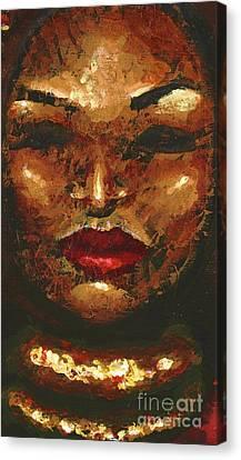 Amber Canvas Print by Alga Washington
