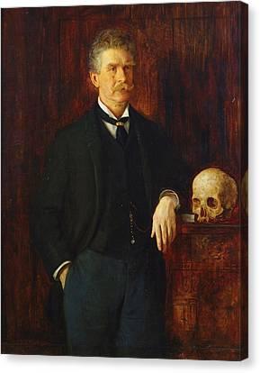 Ambrose Bierce Canvas Print by John Herbert Evelyn Partington