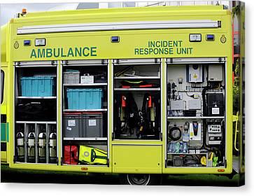 Ambulance Incident Response Unit Canvas Print