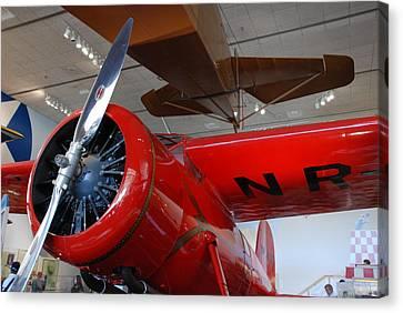 Amelia Earhart Prop Plane Canvas Print