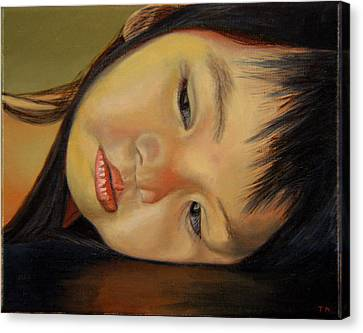Amelie-an 12 Canvas Print