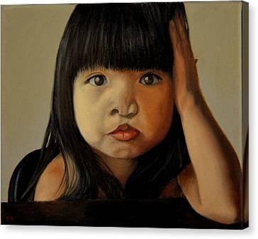 Amelie-an 5 Canvas Print