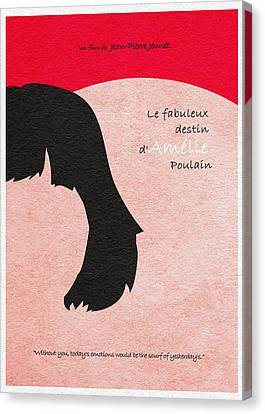 Amelie Canvas Print by Ayse Deniz