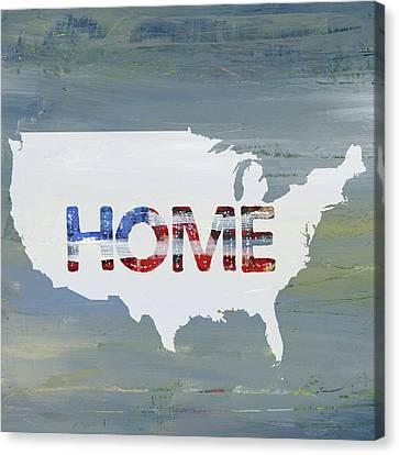 America Home II Canvas Print by Pamela J. Wingard