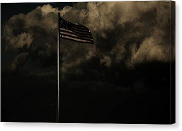 Canvas Print featuring the photograph America....... by Jessica Shelton