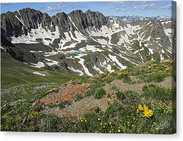 Canvas Print featuring the photograph American Basin by Aaron Spong