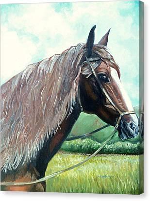 American Beauty Canvas Print by Shana Rowe Jackson