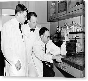 American Biomedical Researchers Canvas Print by National Library Of Medicine