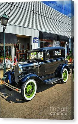 American Classic Car Canvas Print