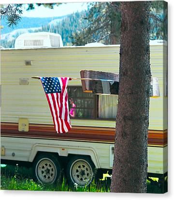 Independance Canvas Print - American Culture by Dean Drobot