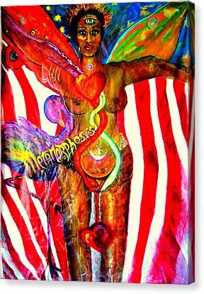 American Dream Metamorphosis Canvas Print