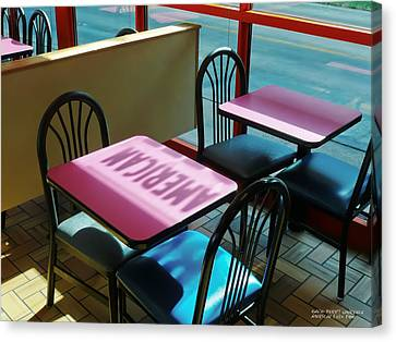 American Fast Food Canvas Print by David Perry Lawrence