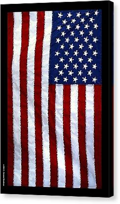 American Flag 2 Canvas Print