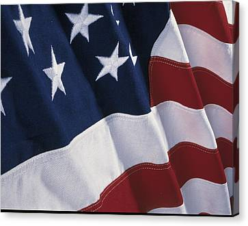 American Flag Canvas Print by Panoramic Images