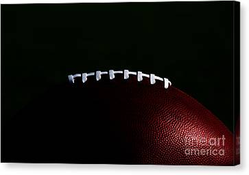 American Football Laces Canvas Print