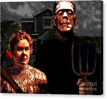 American Gothic Resurrection - Version 2 Canvas Print